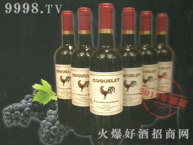 法国红公鸡干红葡萄酒