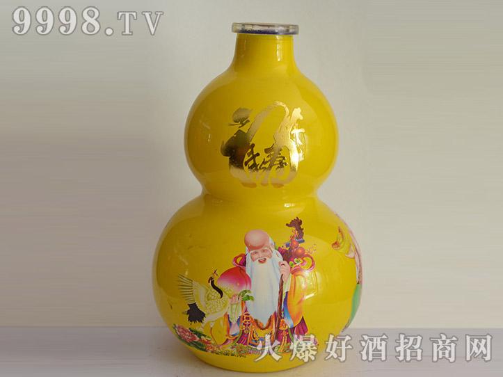 郓城龙腾酒坛系列jt-024黄葫芦寿酒