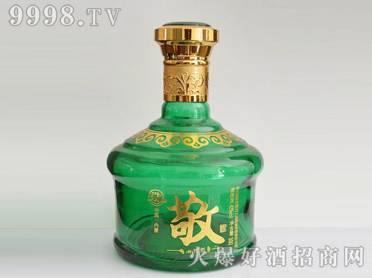 郓城龙腾酒坛系列jt-020绿瓶敬酒
