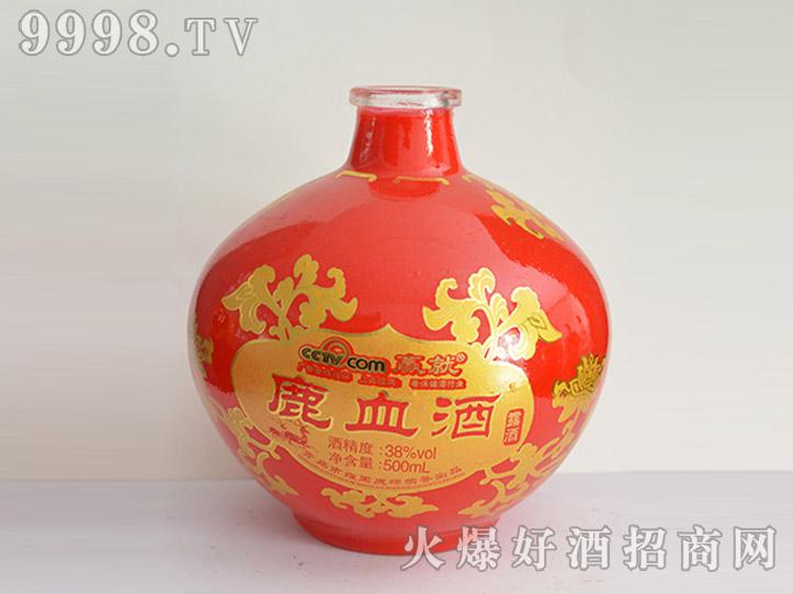 郓城龙腾酒坛系列jt-012红坛鹿血酒