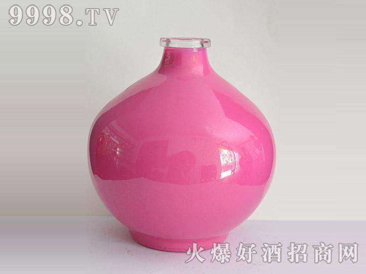 郓城龙腾酒坛系列jt-008简装粉坛