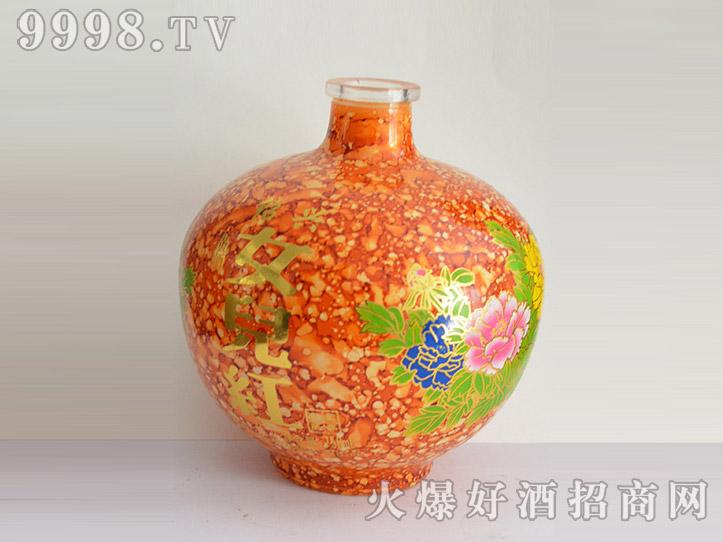 郓城龙腾酒坛系列jt-006黄坛女儿红-机械包装信息