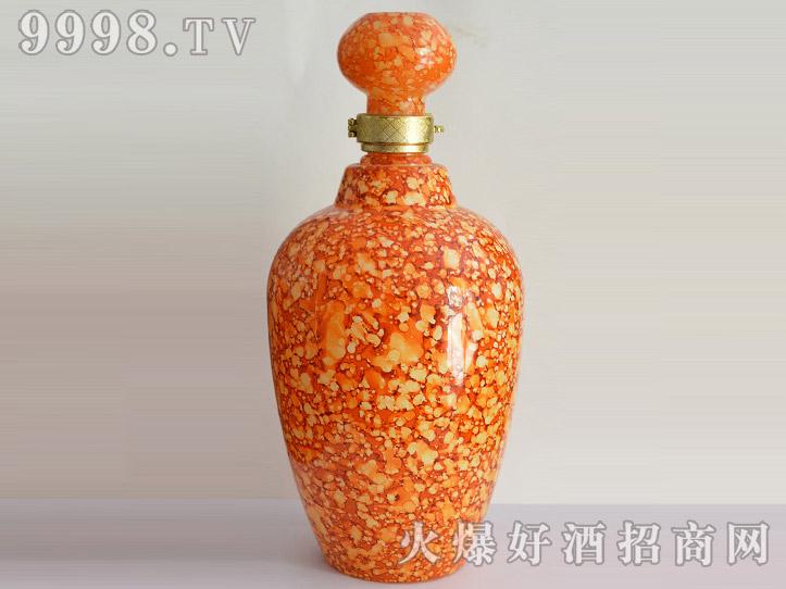 郓城龙腾酒坛系列jt-003彩釉黄瓶