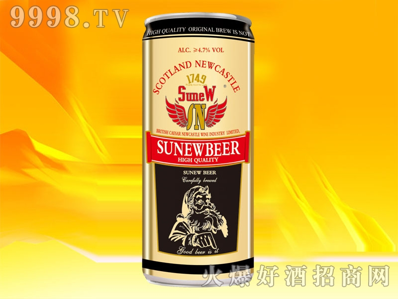 SN006-1L英国苏纽烈性啤酒12度