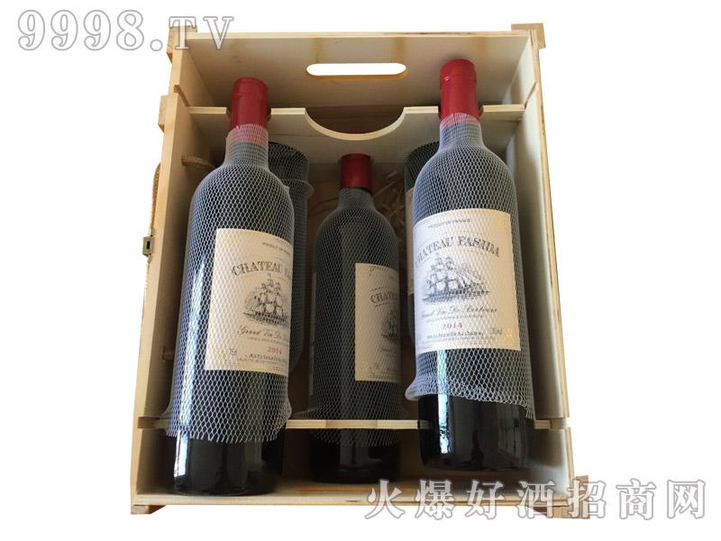 法国法斯达木箱红酒
