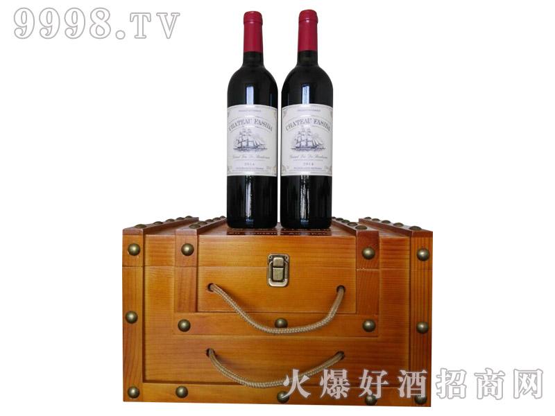 法国法斯达木箱干红葡萄酒