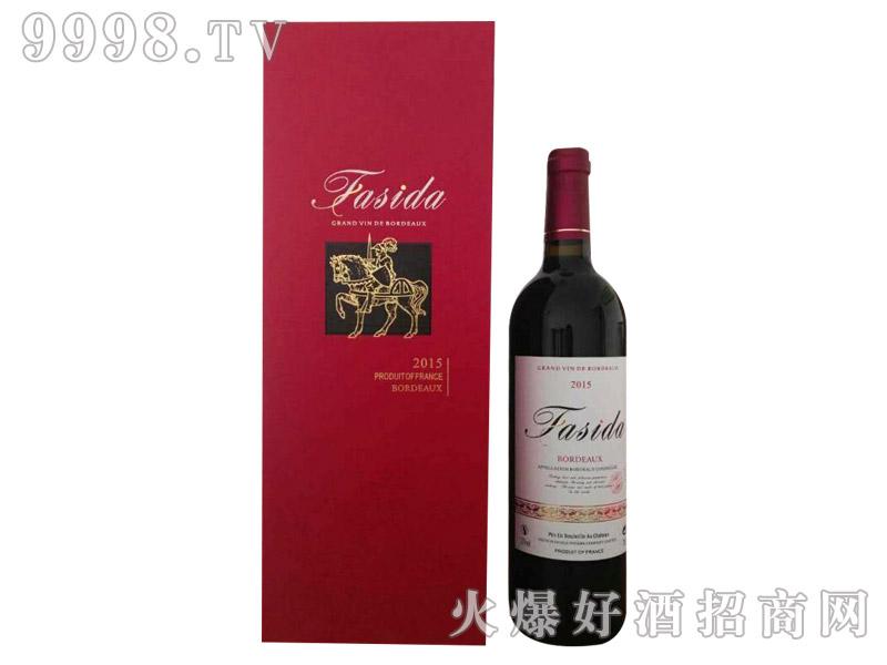 法国法斯达卡盒干红葡萄酒2015