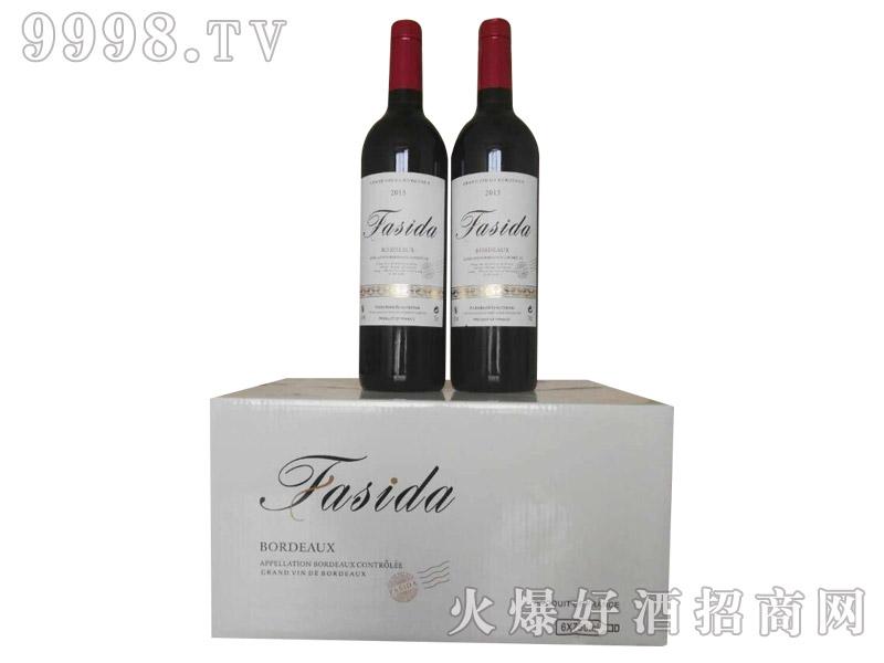 法国法斯达光瓶干红葡萄酒2015