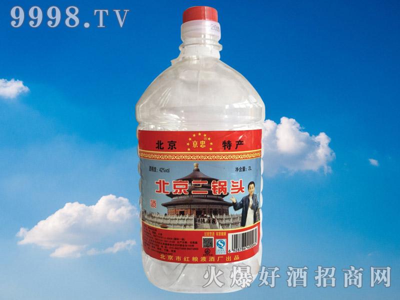 京忠北京二锅头酒2L(桶装)