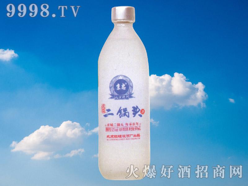 京忠北京二锅头酒(磨砂瓶)