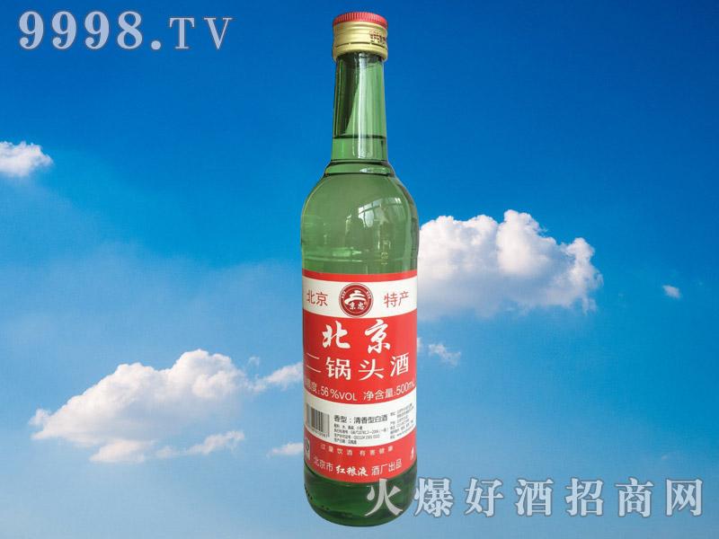 京忠北京二锅头酒56°500ml