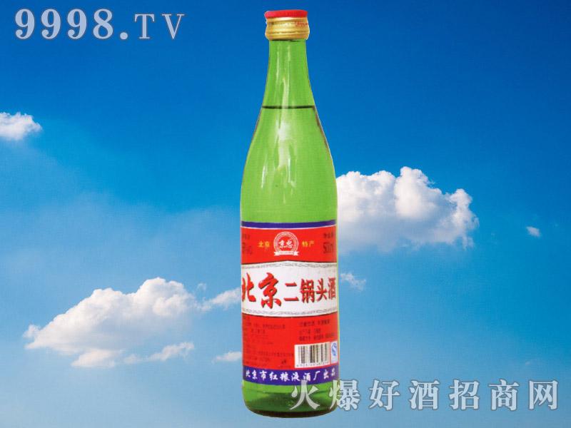 京忠北京二锅头酒500ml(绿瓶)