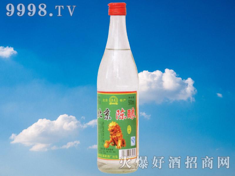 京忠北京陈酿白酒500ml
