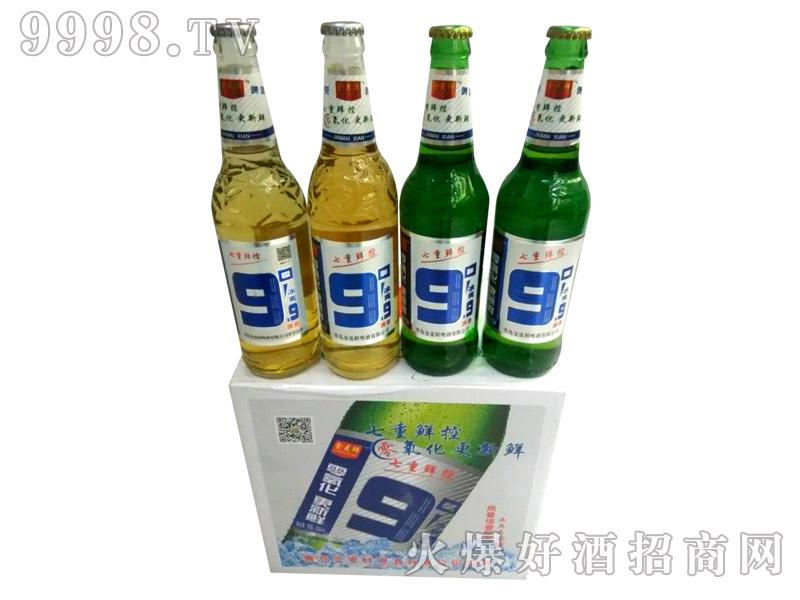 500ml冰爽9.9度七重鲜控啤酒