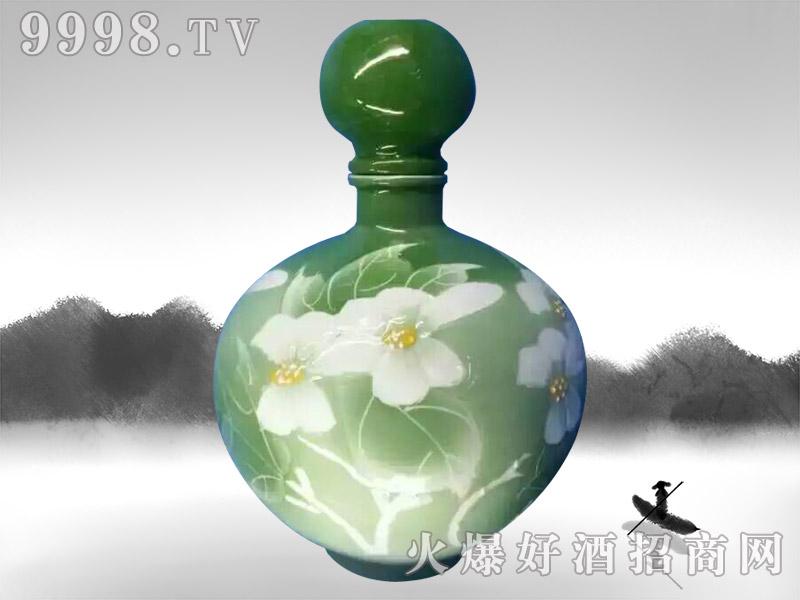 亳州坛子酒(原浆酒荷花瓶)