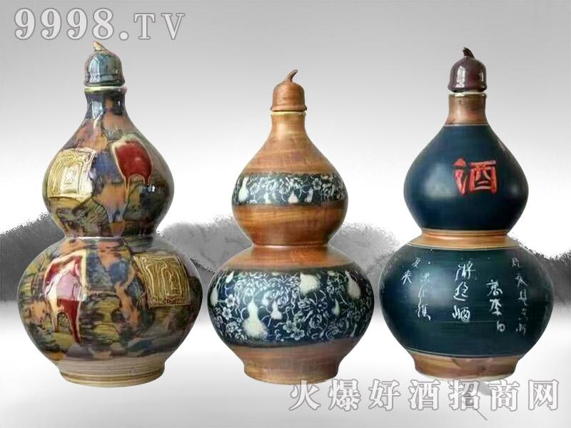 亳州坛子酒(生态原浆酒炫彩葫芦)