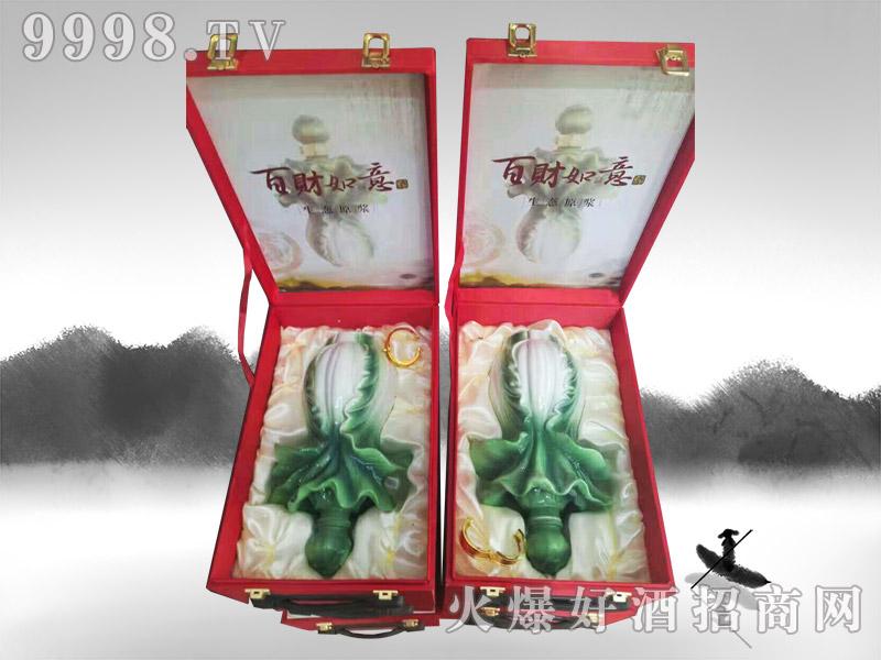 亳州坛子酒(百财如意酒生态原浆)