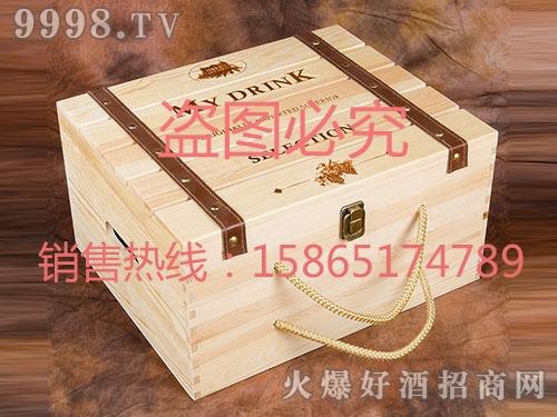 海源工艺・高档红酒酒盒