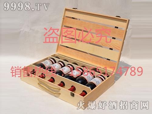 海源工艺・六支木酒盒