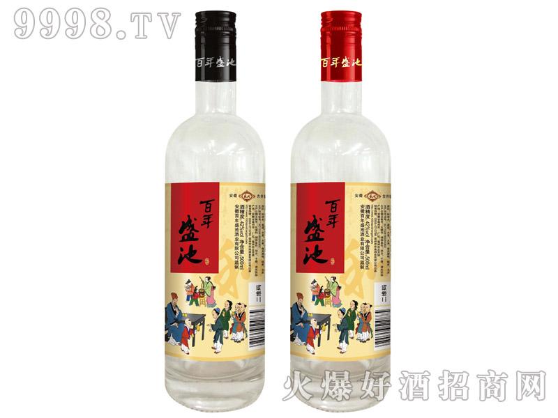 百年盛池酒光瓶