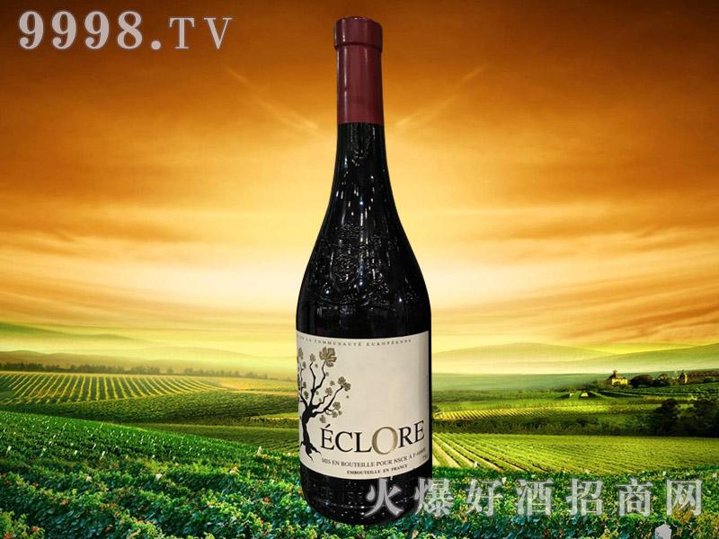 法国金树堡红葡萄酒