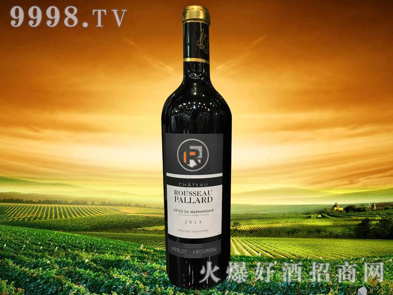法国帕拉德城堡红葡萄酒