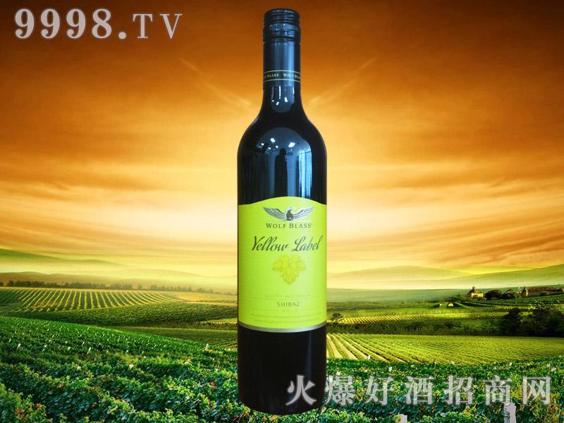 纷赋酒庄黄标设拉子红葡萄酒