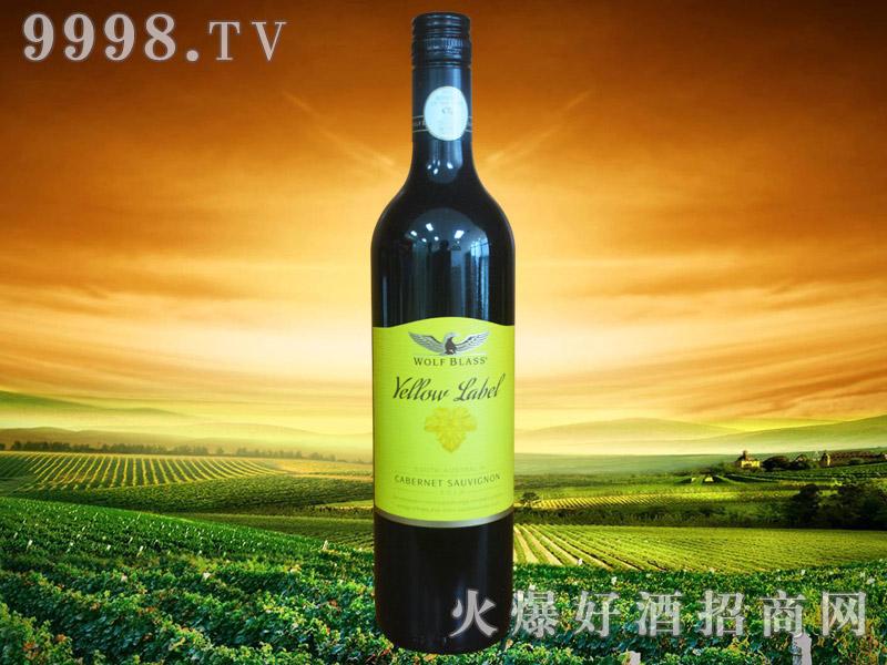 纷赋酒庄黄标赤霞珠红葡萄酒