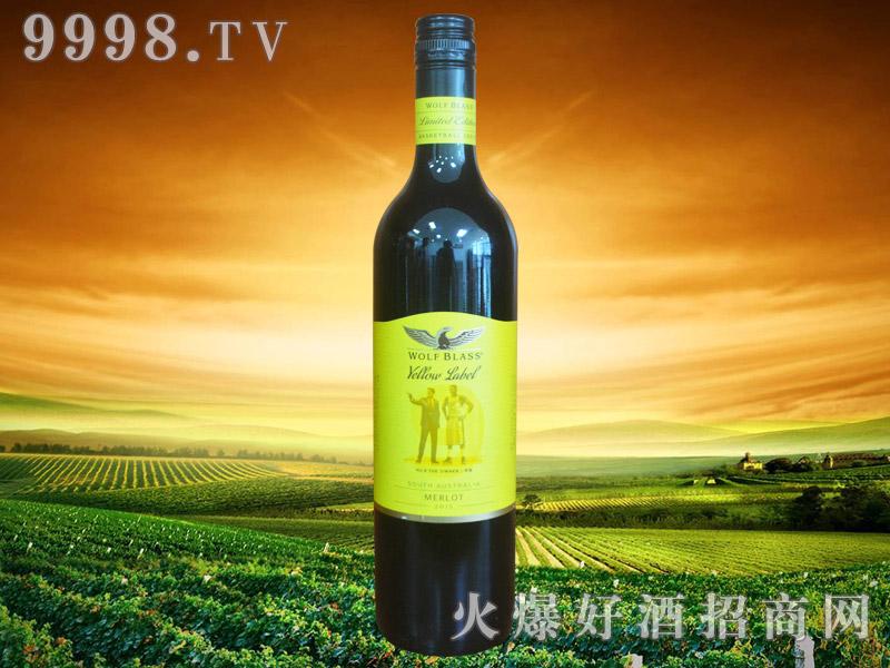 纷赋酒庄黄牌NBA梅洛红葡萄酒