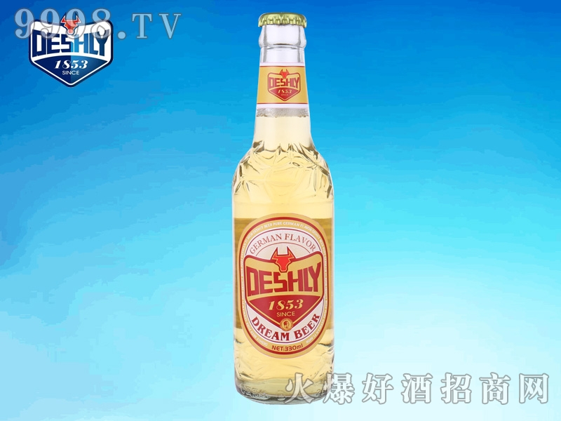 德仕利零点梦幻啤酒330ml