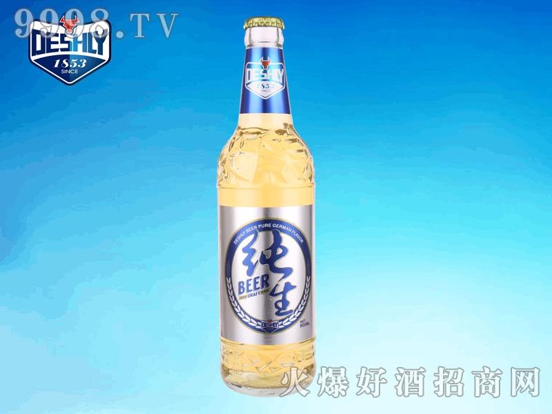 德仕利纯生啤酒500ml