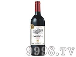 法国路易威顿法玛蒂・漠贝干红葡萄酒