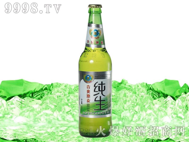 500ml青爽澳麦纯生啤酒