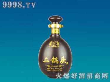 正达喷涂玻璃瓶二锅头YTP-001-500ml