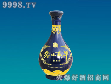 正达喷涂玻璃瓶冬虫夏草YTP-003-500ml