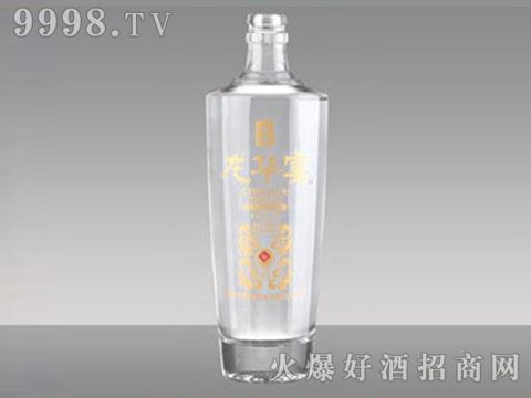 高白玻璃酒瓶R-173龙华宴酒500ml