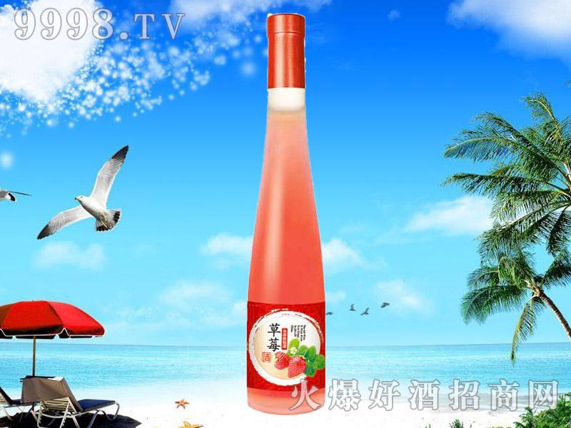 草莓水果配制酒375ML