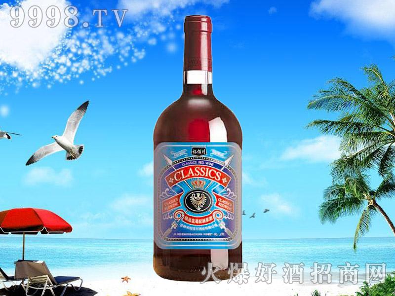 极品蓝莓水果配制酒1L