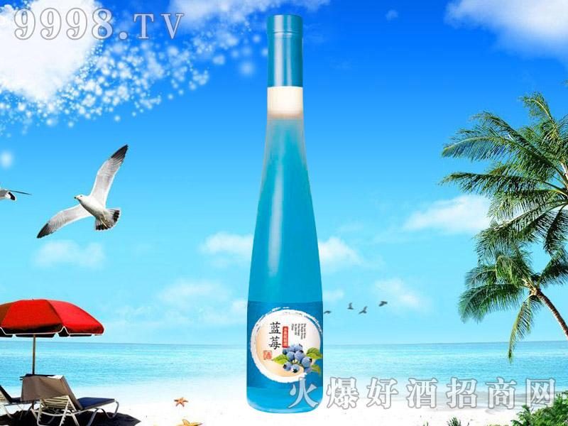 蓝莓水果配制酒375ML