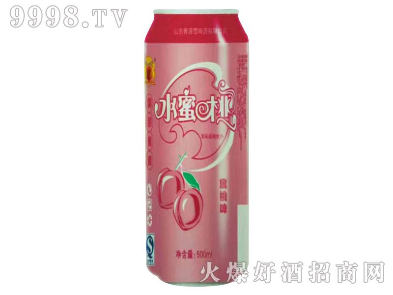 青源水蜜桃味汽水500ml