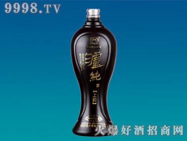 郓城工艺喷涂玻璃瓶泸纯上韵YTP-150-500ml