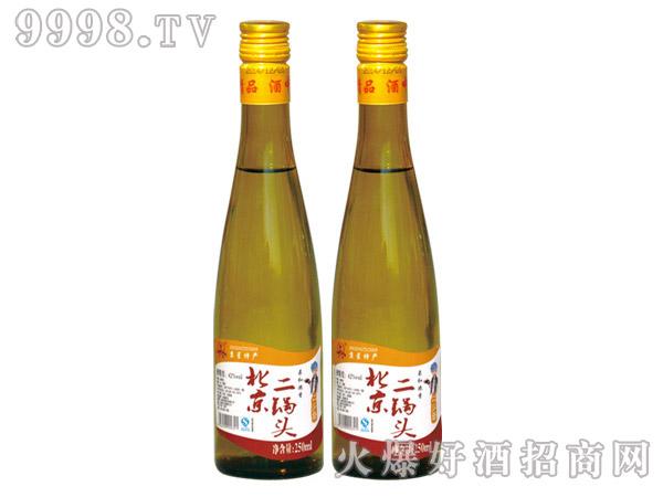 250ML京星老北京二锅头酒(黄瓶)