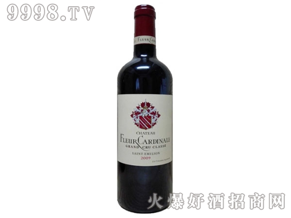 花妃城堡干红葡萄酒FLEUR-CARDINALE