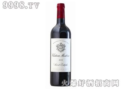 玫瑰山庄二级干红葡萄酒Chateau Montrose