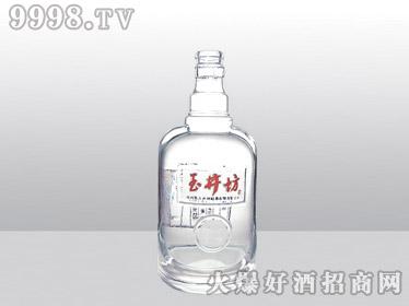 郓城工艺高白料玻璃瓶玉井坊YT-003-500ml