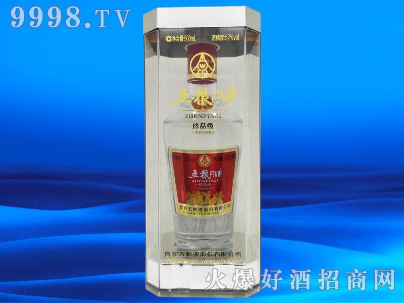 五粮PTVIP珍品级浓香型白酒