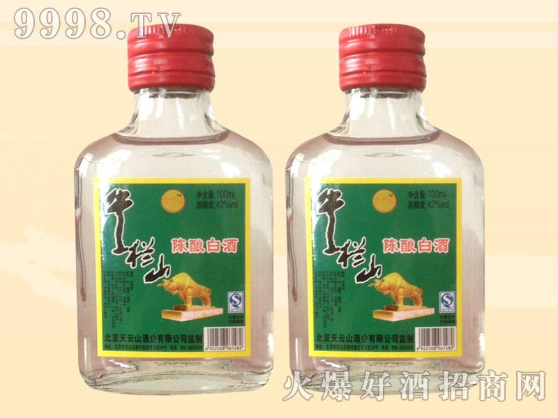 生栏山陈酿白酒56度100ml