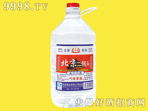 京宾楼北京二锅头酒56°4.5L