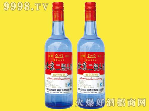 京宾楼北京二锅头酒蓝色经典750ml×12