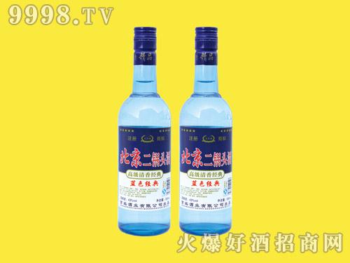京宾楼北京二锅头酒蓝色经典250ml